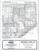 Lakewood, Duluth T51N-R13W, St. Louis County 1987 South